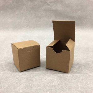 Gift Box 2 x 2 x 2 & small natural kraft gift box u2013 Donahue Paper Emporium Aboutintivar.Com