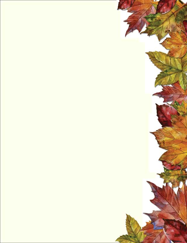autumn leaves stationery 50 sheets page 9223372036854775807