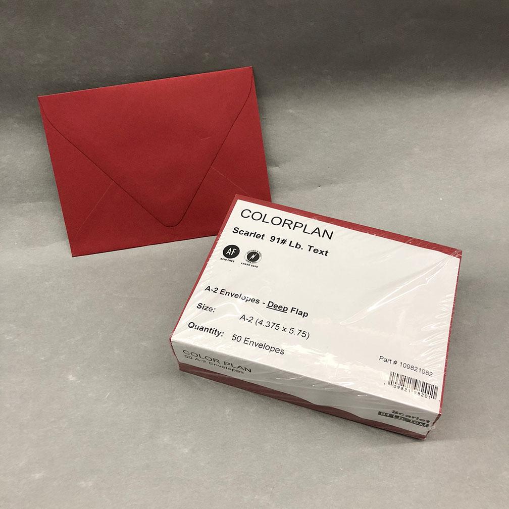 A2 European Flap Envelopes (4 3/8 x 5 3/4) – Donahue Paper Emporium